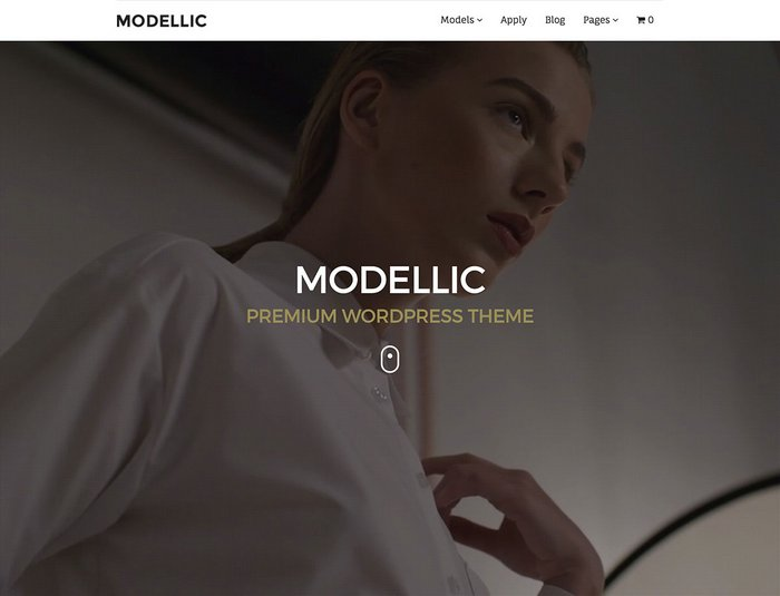 Modellic Fashion WordPress Theme