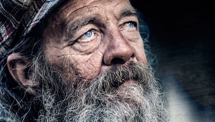 Amazing Photographs of Homeless Portraits in Award Winning Portrait Series