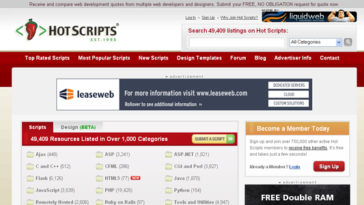 Free Download Web Scripts