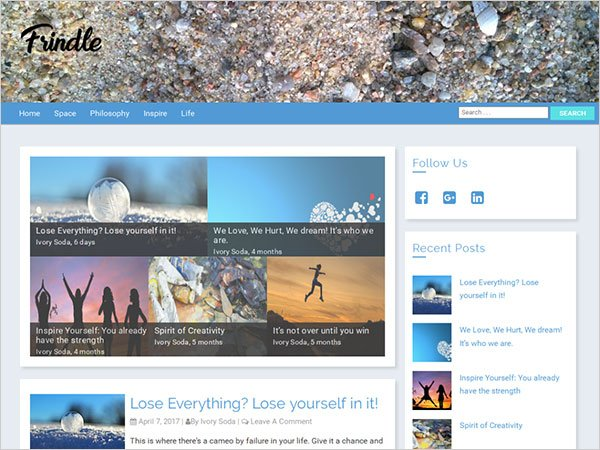 Frindle Magazine Wp Theme 2017