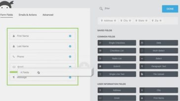 Ninja Forms wordpress form builder