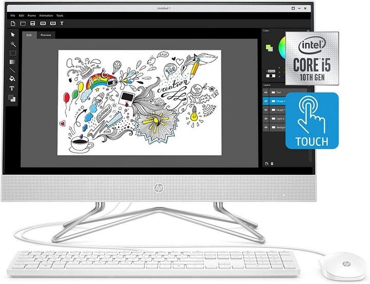 HP 24-inch All-in-One Touchscreen Desktop Computer