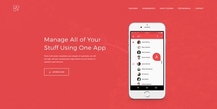 Meson App Landing WordPress Theme