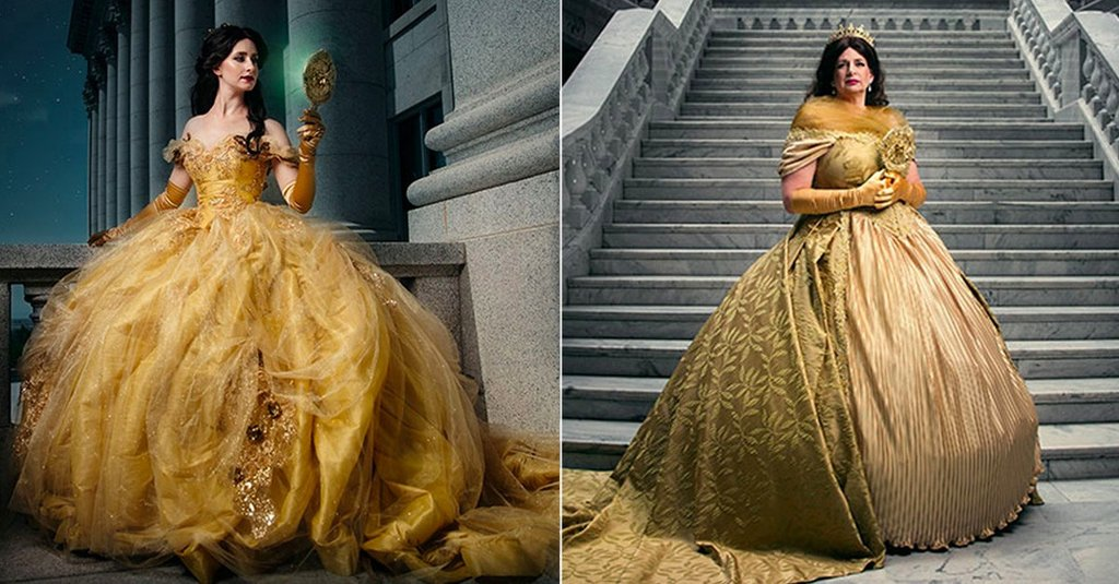 Stunning Photo Shoot Shows Disney Princesses and Grown-Up Queens