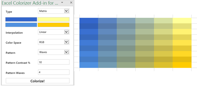 Excel Colorizer Free Excel Add-ins