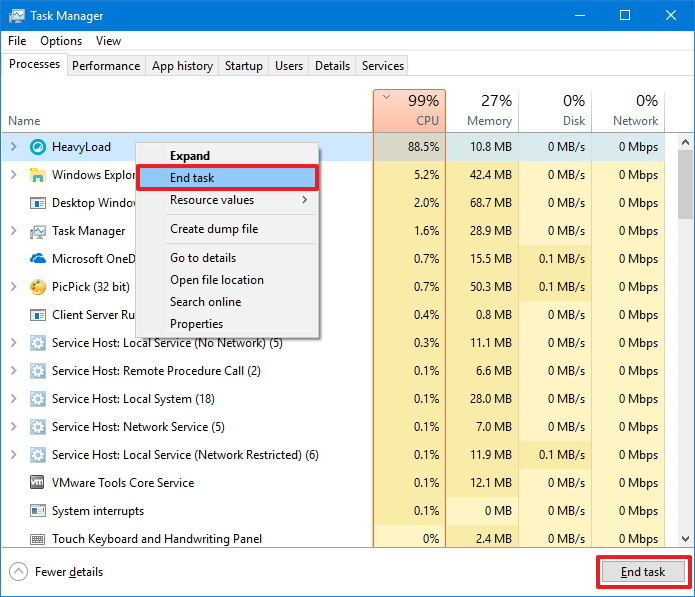 how to stop background processes windows 10