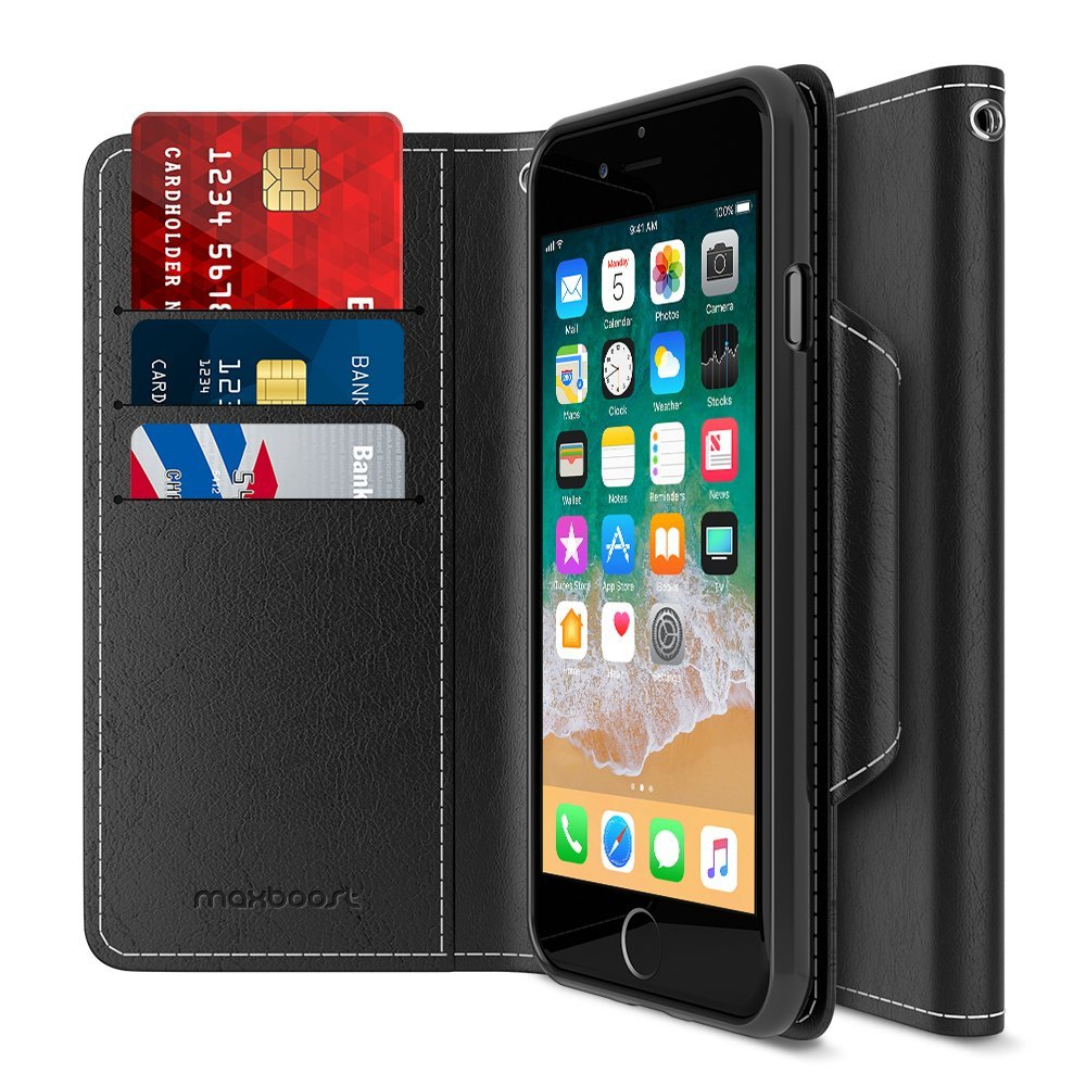 iPhone 8 Wallet Case Maxboost
