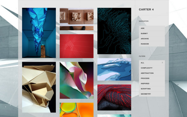 Carter Sidebar Free Tumblr Theme