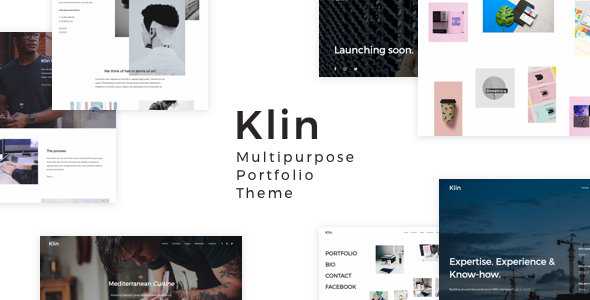 Klin Multipurpose Portfolio Theme