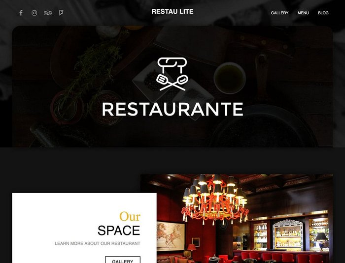 Restau Lite WordPress Theme