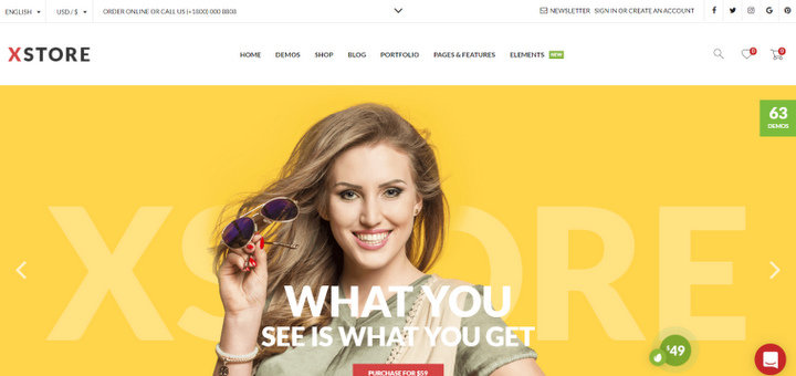 100 Best WooCommerce WordPress Themes