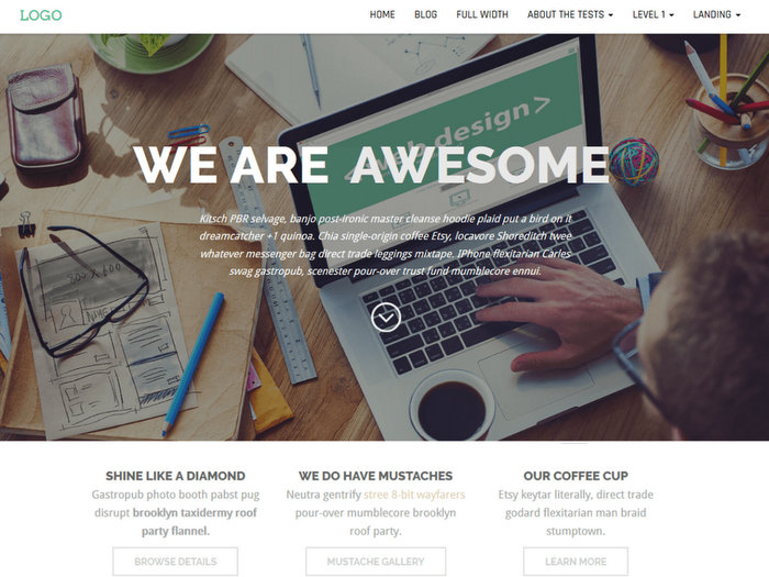 Business Press Free Business WordPress Theme