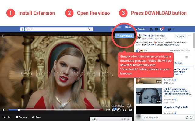 How to download fb videos from chrome in android | Facebook Video