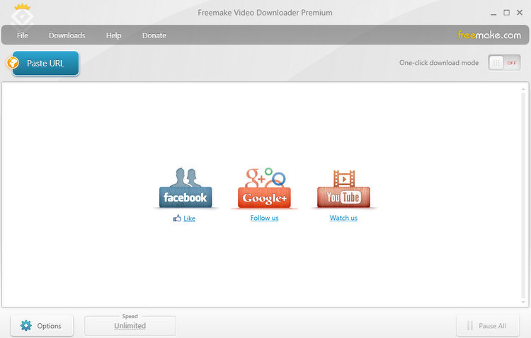 Freemake Video Downloader to Download Facebook Videos