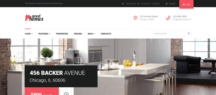 Good Homes Responsive Theme