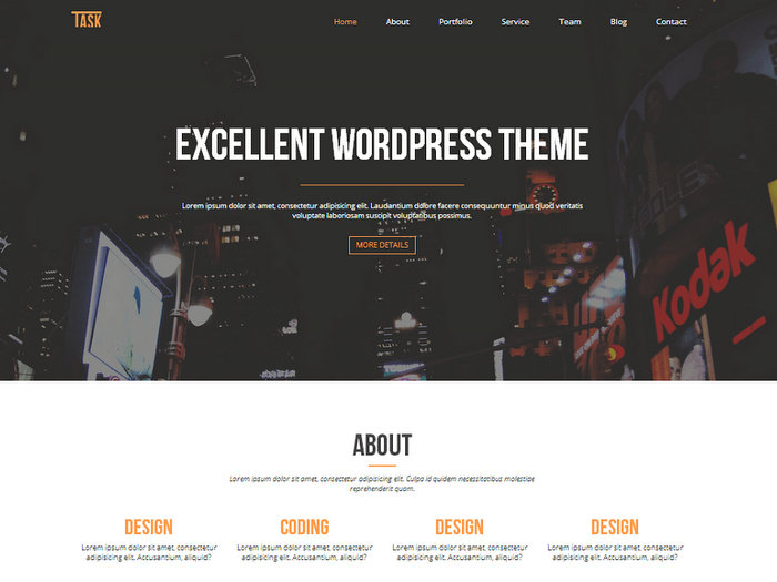One Business Free WordPress Themes