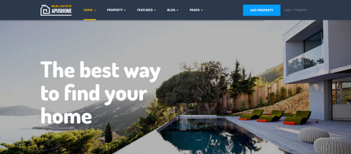 Real Estate WordPress Themes ApusHome