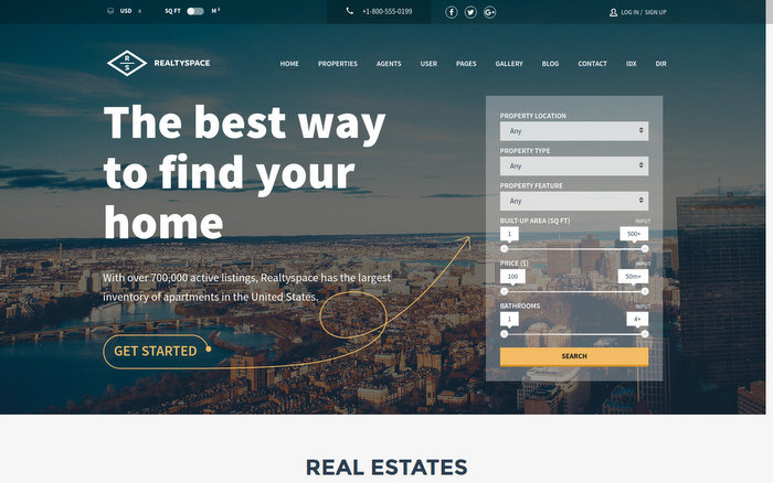 RealtyspaceReal Estate Agents