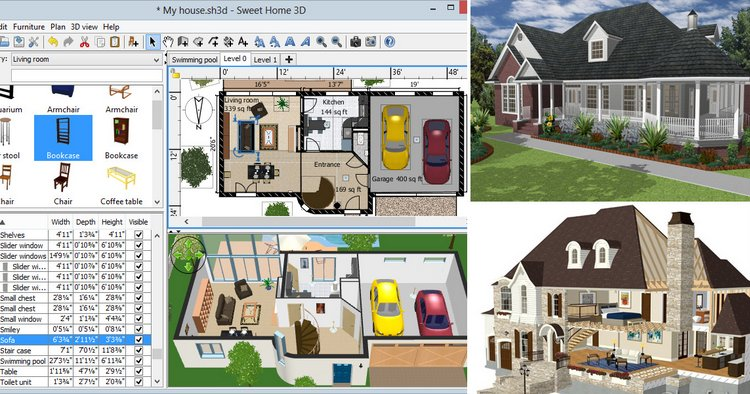 15 best home design software 2018 - Home decorating design software free ...