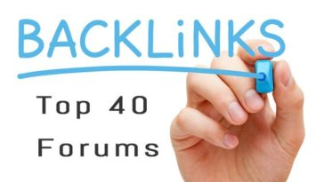 Top 40 Forums Sites To Get DoFollow Backlinks 2018