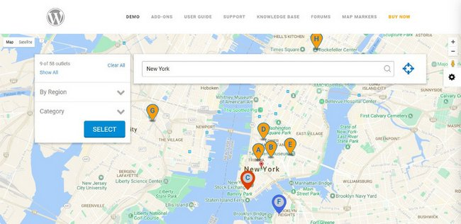 Super Store Finder Store Locator WordPress Plugin