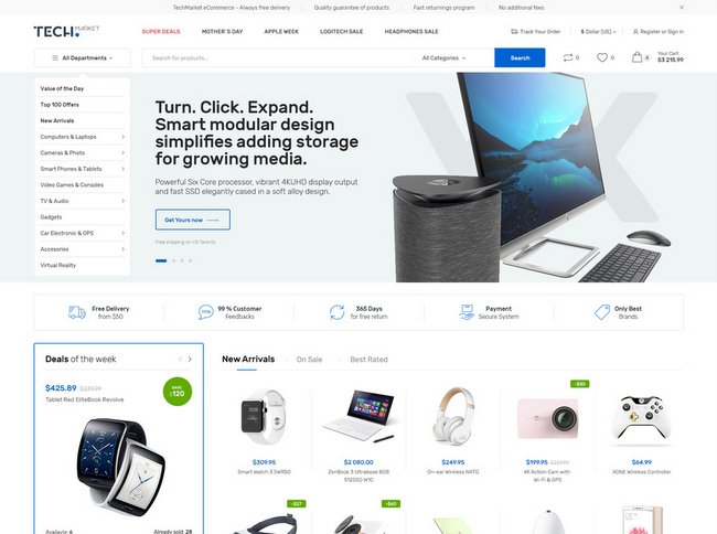 40 Free and Premium Woocommerce WordPress Themes