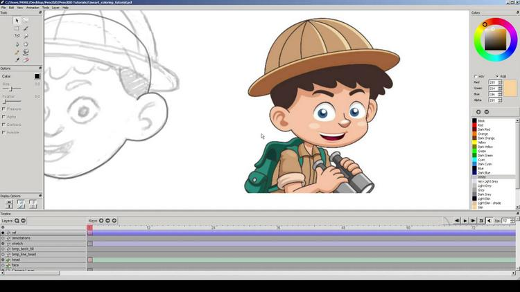 Pencil2d Free Animation Software