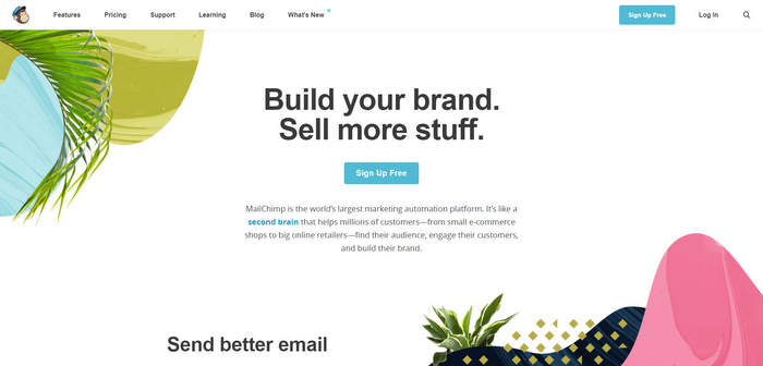 MailChimp Free Mailing List Manager