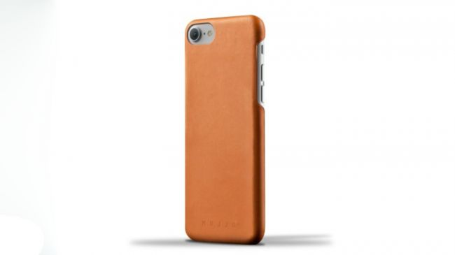 Mujjo Leather iPhone 8 case