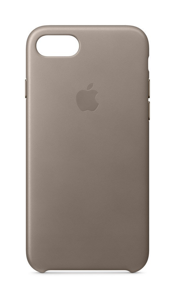 iPhone 8 Official Leather case aluminum