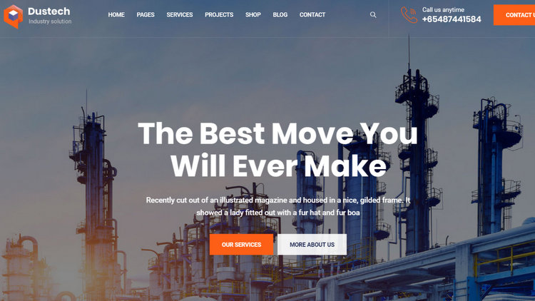 20 New Free and Premium WordPress Business Themes in 2020