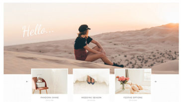 Malina Personal WordPress Blog Theme