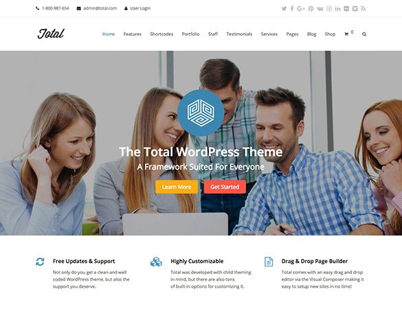 total wp theme