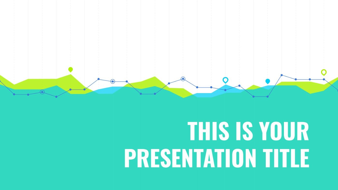 Data Results or Statistics Presentation Template