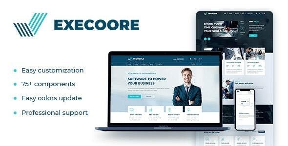 Execoore Technology Drupal Theme