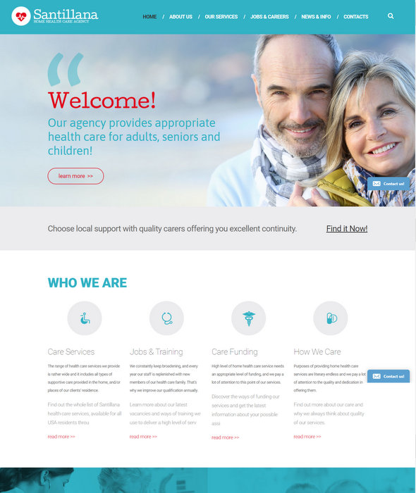 Health Care Business Drupal Theme