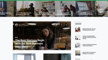 Networker Tech Magazine WordPress Theme