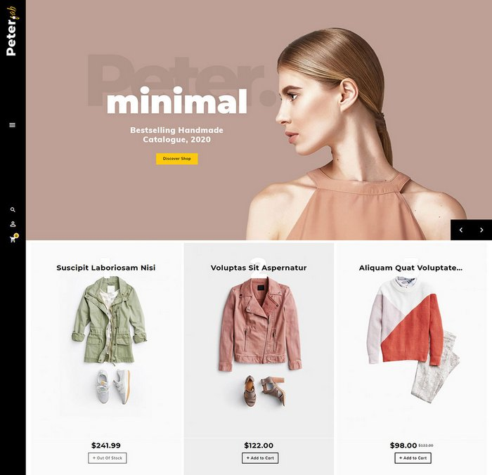 Peter eCommerce OpenCart Theme