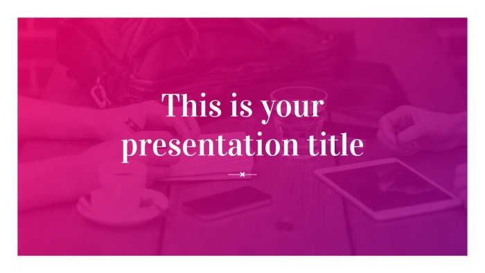 Vibrant Purple Gradient Background PPT