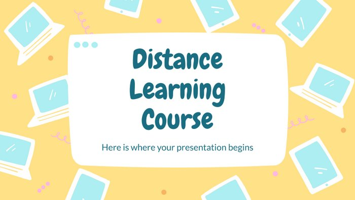 distance-learning-course-ppt