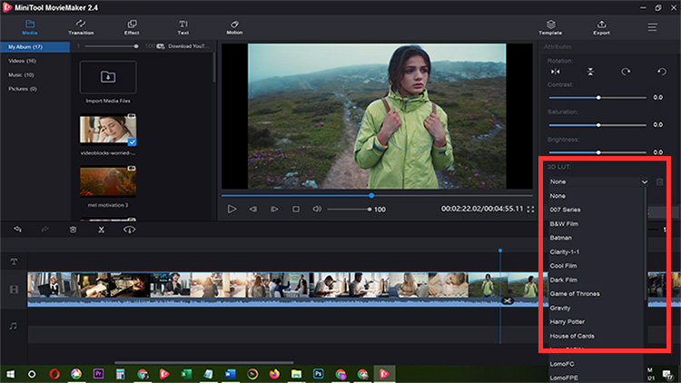 How to Create a Cinematic Look Video Free Video Software