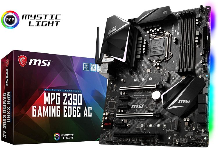 MSI MPG Z390 Motherboard with WiFi