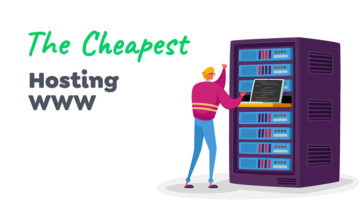 The cheapest web hosting service companies