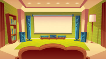 set up a home theatre